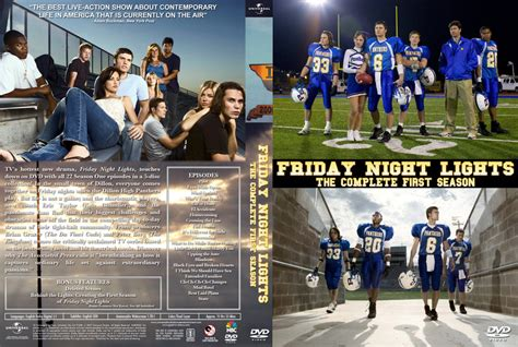 Friday Lights Season 2 by Friday Lights Season 1 Tv Dvd Custom Covers Friday Lights Season 1