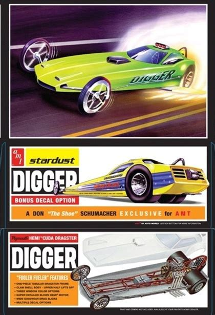 digger plymouth barracuda funny fueler  fs
