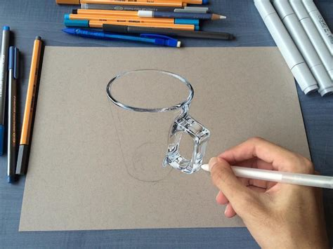 best 3d painting this artist creates 3d drawings that look incredibly real