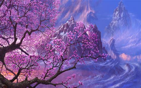 wallpaper pink trees pink trees wallpapers wallpaper cave