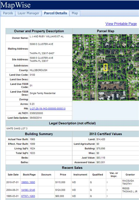 Palm Property Appraiser Record Search Florida Gis Map Viewer Tutorial