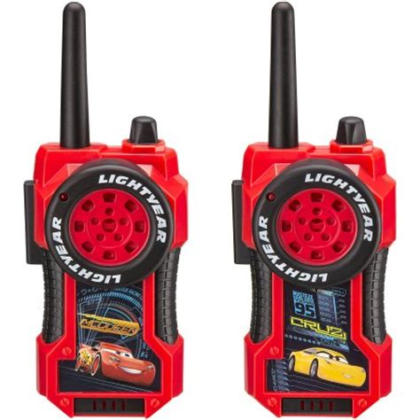 disney cars 3 frs walkie talkies walmart