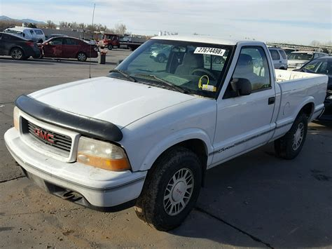small engine maintenance and repair 1995 gmc sonoma club coupe auto manual auto auction ended on vin 1gtdt14x4w8500517 1998 gmc sonoma in co denver south