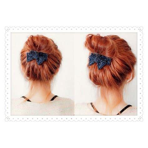 easy hairstyles ribbon ulzzang hairstyle cute ribbon bun ulzzang tips