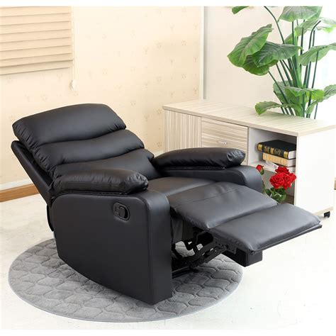 Leather Recliner Lounges by Ashby Leather Recliner Armchair Sofa Home Lounge Chair