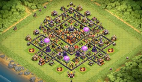 th10 trophy base town hall 10 trophy pushwar base anti golem anti dunkles elixier farmen dorflayouts f 252 r maxed helden