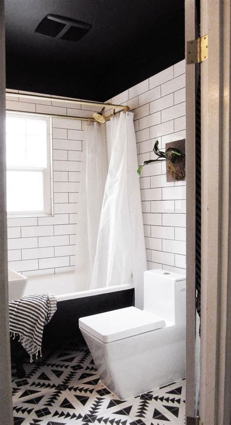 painted ceilings in bathrooms bathroom makeovers bathroom and black ceiling on pinterest