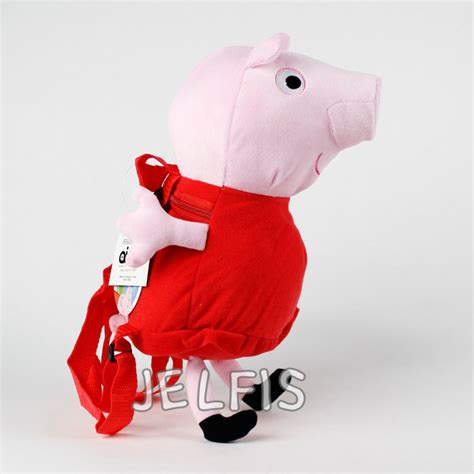 Boneka Peppa Pig Original Import Doll nickelodeon peppa pig 15 quot stuffed plush doll backpack