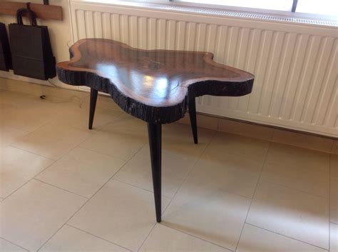 three legged wooden table vintage 3 legged wooden coffee table for sale at pamono