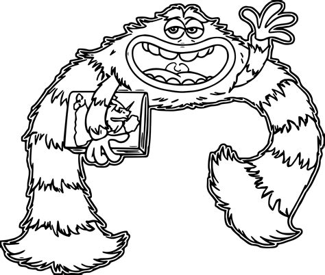 monsters inc coloring pages pdf monster university coloring pages wecoloringpage