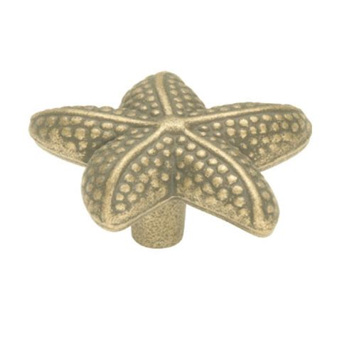 Starfish Cabinet Knobs by Belwith Keeler South Seas Starfish Knob Dyke S