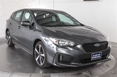 2019 Subaru Impreza Sport by New 2019 Subaru Impreza 2 0i Sport 5 Door In