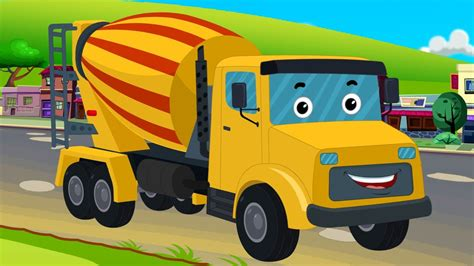 childrens truck channel cement mixer vehicles for trucks for