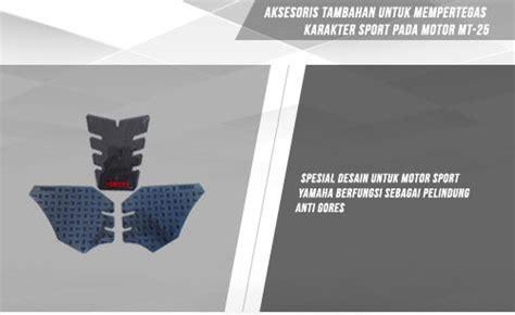 Tank Pad Yamaha R25 Mt 25 Original 11 daftar harga aksesoris yamaha mt 25 original terbaru