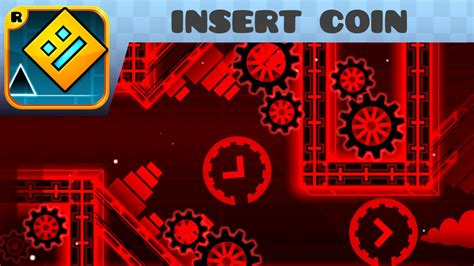 Kaos Pixel Insert Coin To Continue geometry dash insert coin medium by etzer