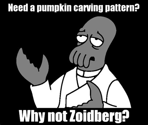 Meme Pumpkin Stencil - zoidberg pumpkin pattern by kamose on deviantart