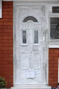 Pictures Show Bullet Holes In Jayne Hickey And Son Front Door Delivery