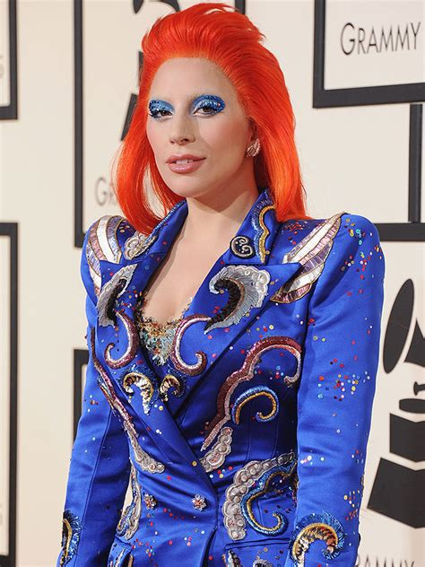 Home Decor Magazine Canada lady gaga s makeup pro on her david bowie inspired grammy