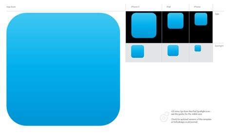 quick tip ios icon template for illustrator cs5 macgasm