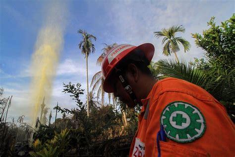 api padam sumur minyak ilegal  aceh timur ditutup