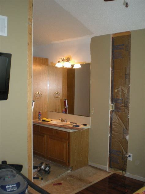 how is it to add a bathroom step by step photos of how to add a new door to an