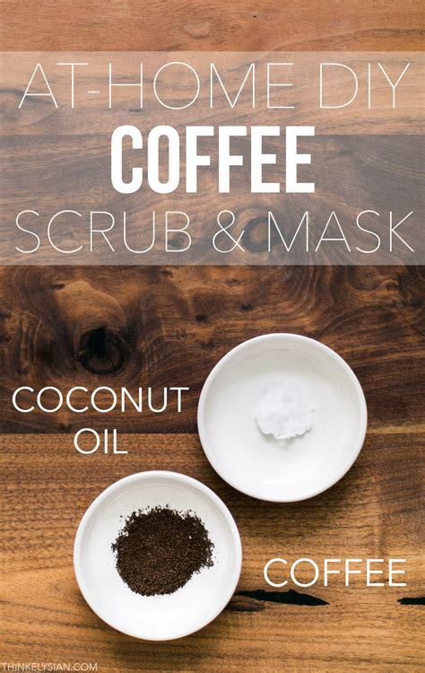 diy coffee mask think elysian at home diy coffee scrub mask think elysian