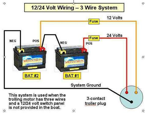 24 volt battery wiring diagram what is the proper way of hooking up batteries for 24 volt