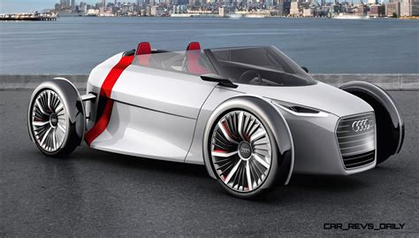 audi urban concept spyder   seater  scooter phobes