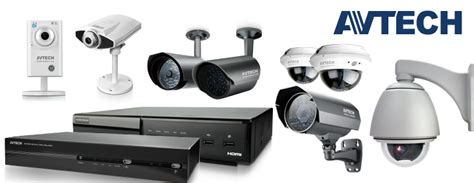 Cctv Avtech security products it maintenance support malaysia