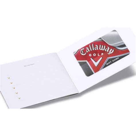Callaway Gift Card - 4imprint com callaway gift card 50 101497 50 imprinted with your logo