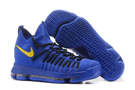 royal blue nike basketball shoes 2017 nike zoom kd 9 elite royal blue yellow basketball