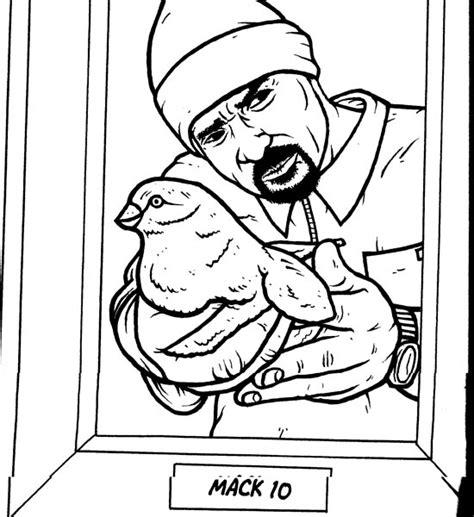 gangsta rap coloring book gangsta rap coloring book mack 10