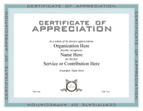 pastor appreciation certificate template certificate of appreciation templates