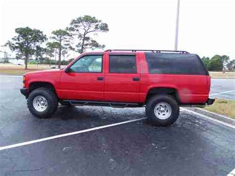 books about how cars work 1999 chevrolet suburban 1500 interior lighting find used 1999 chevrolet suburban ls 4x4 3rd row leather lifted tons of recent work in