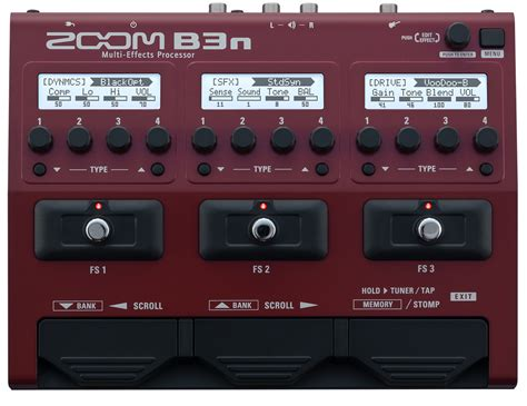 Zoom B3n Bass Pedal zoom b3n multi effects bass pedal zoomav co nz