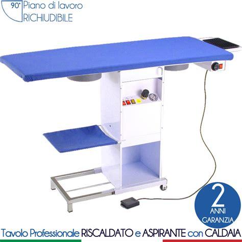 tavolo da stiro aspirante tavolo da stiro rettangolare piano 129x51 cm riscaldato