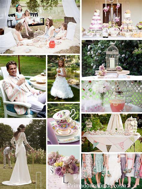 party themes wedding wedding theme english tea party primadonna bride