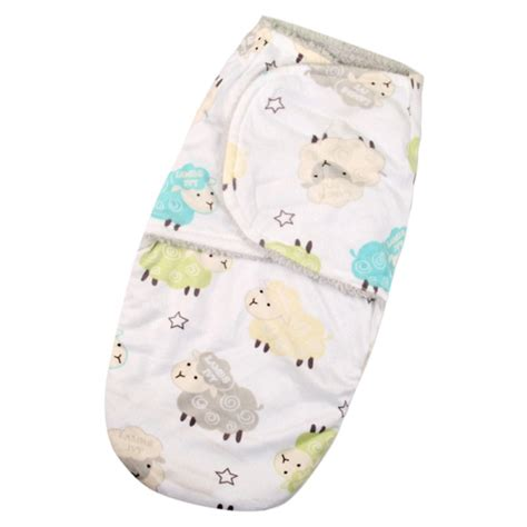 Baby Blanket Sleeper Bag by Newborn Infant Baby Cotton Swaddle Wrap Swaddling