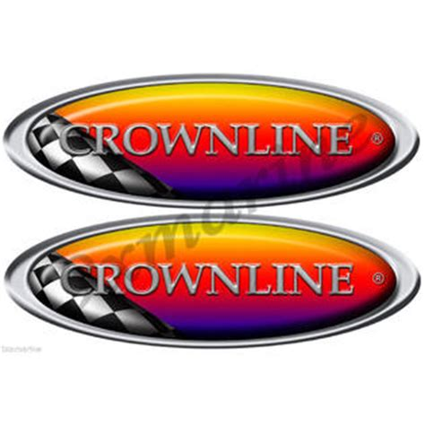 crownline boat accessories boat crownline decals fitness sports water sports