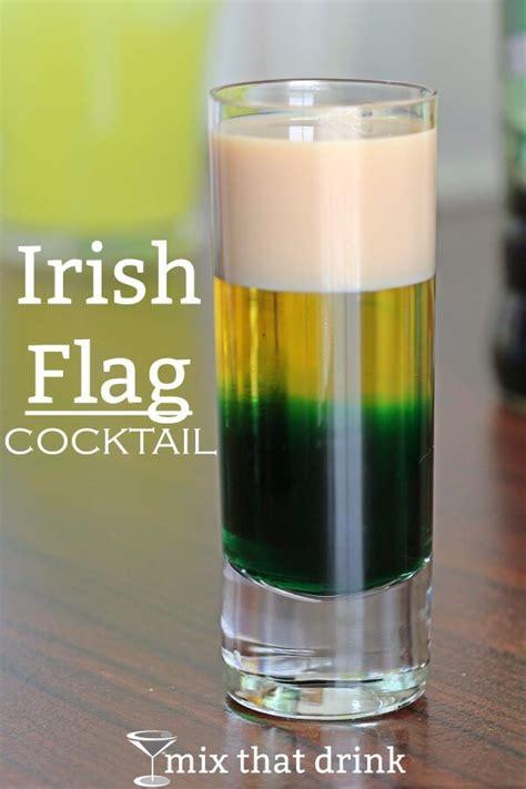 irish flag drink recipe mix that drink