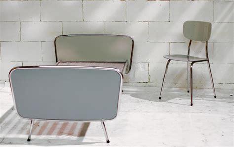 bett 50er retro vintage buisframe bed of daybed jaren 50 60 gispen
