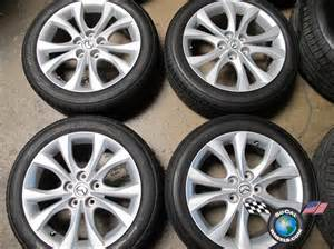 2010 mazda 3 factory 17 wheels tires oem rims mazda 5 6 ebay