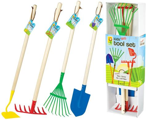 Children S Garden Tools Set by Toysmith Big Garden Tool Set Toys