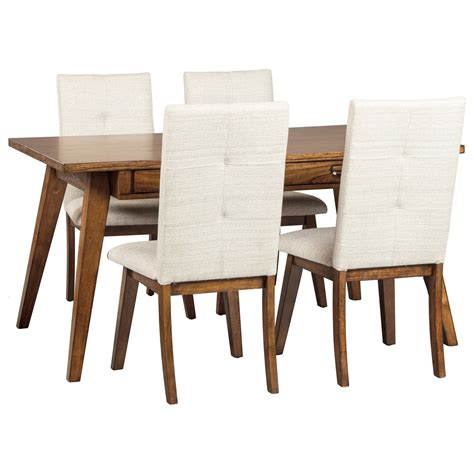 centiar dining room signature design by ashley centiar 5 piece rectangular