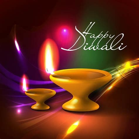 Happy Diwali Card Templates by Free Vector Abstract Colorful Lines Background On Happy
