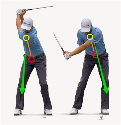 secondary axis tilt golf swing golf flog blog become an angled pile driver