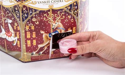yankee doodle advent calendar yankee candle present groupon goods