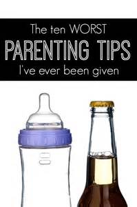 Ever Worst Funny Parenting Advice