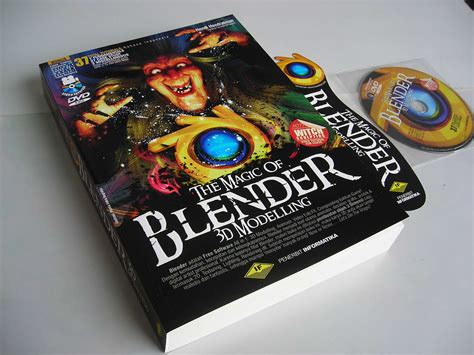 Berkualitas The Magic Of Blender 3d Modelling 37 Total Tutorials jual buku tutorial blender 3d modelling panduan bahasa indonesia tutorial multimedia