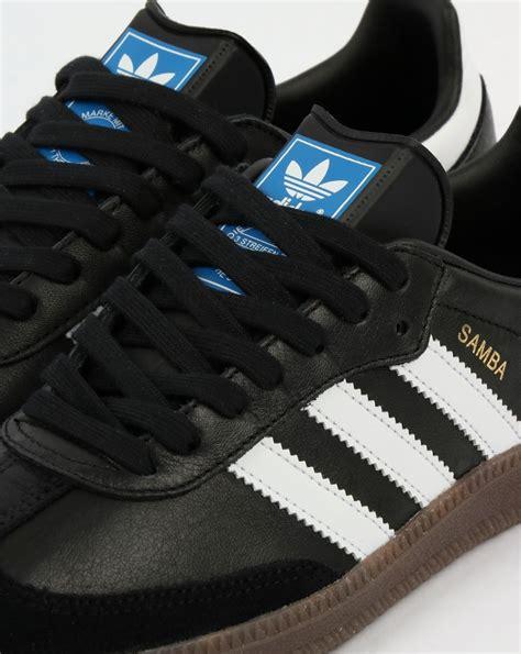 adidas samba og trainers blackwhitegumshoesleathermenssuper